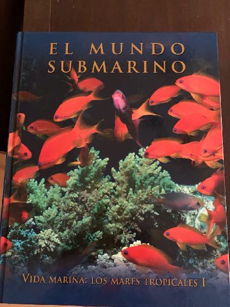 Lote 10 libros mundo submarino