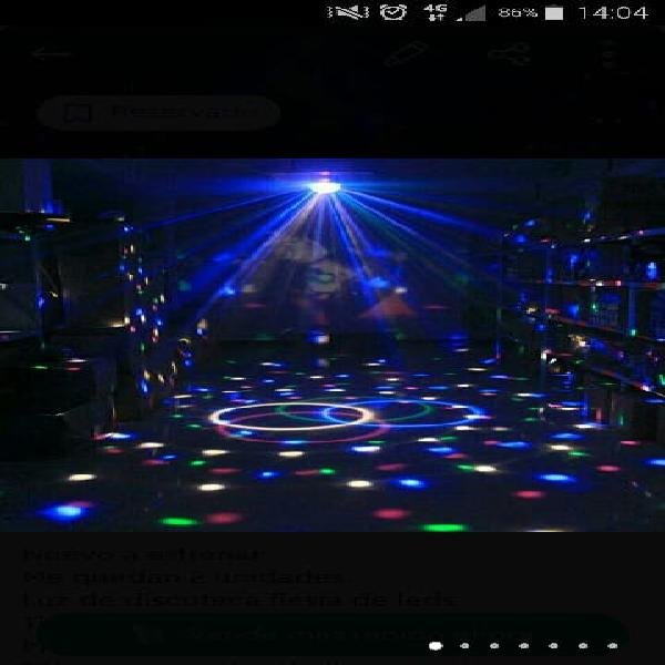 Luz de discoteca fiesta