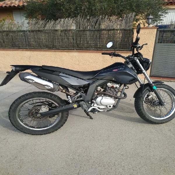 Moto enduro trail derbi cross city 125cc