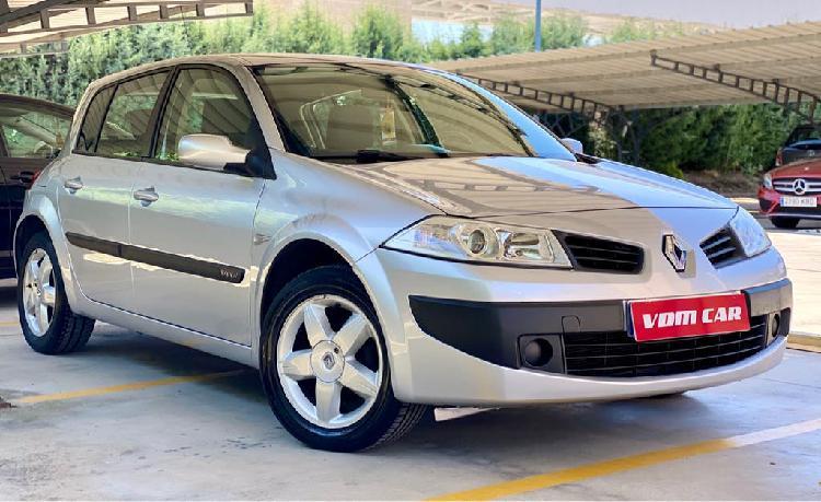 Renault megane 1.4 gasolina 100cv