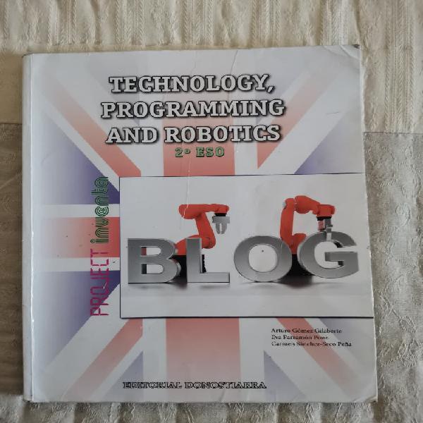 Technology, programming and robotics 2 eso