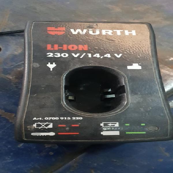 Cargador batería wurth
