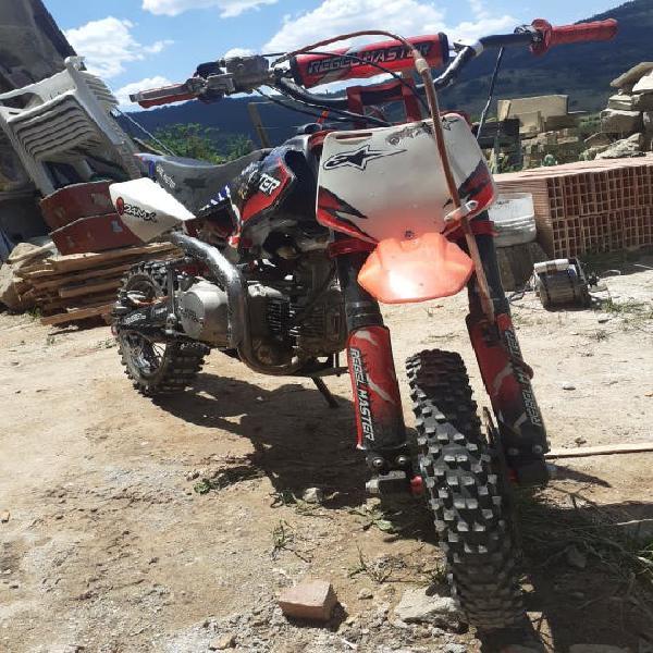 Motocross pit bike rebel máster 24mx 125cc