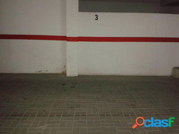 Se vende plaza de garaje en zona cami reial de torrent