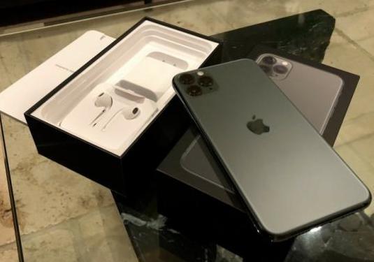 Apple iphone 11 pro max - 256gb - verde