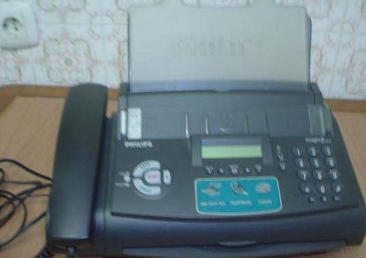 Fax telefono marca philips modelo magic3 primo col