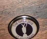Golf marcador bolas - the open 2010 st. andrews -