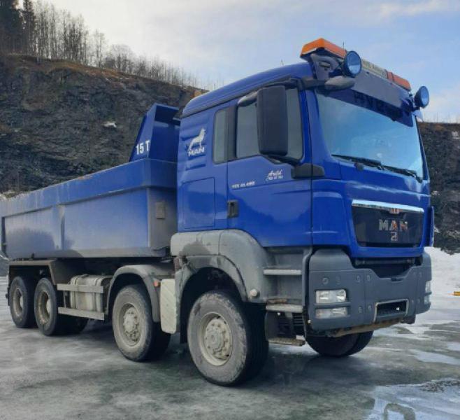 Man tgs41.480 dump truck (scania