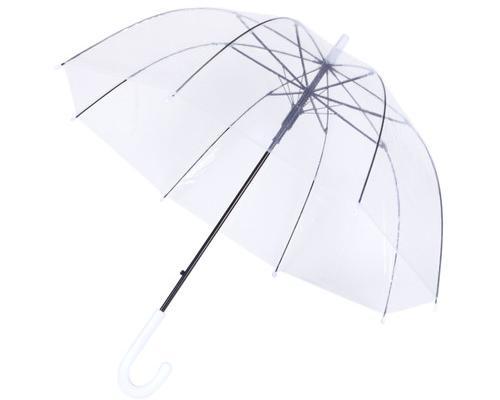 Paraguas transparente cúpula automatico antiviento 1002a