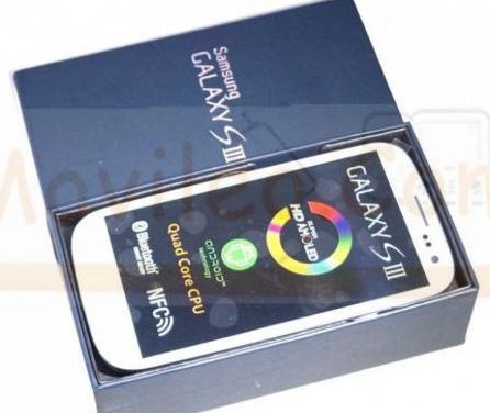 Samsung galaxy s3 blanco nuevo con caja