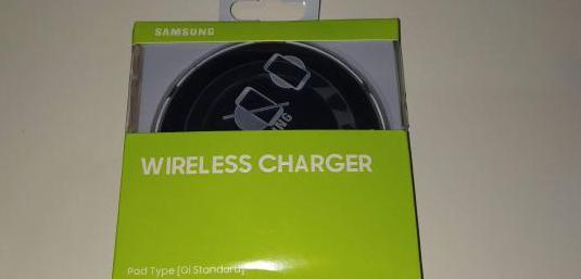 Samsung cargador qi nuevo con garantia