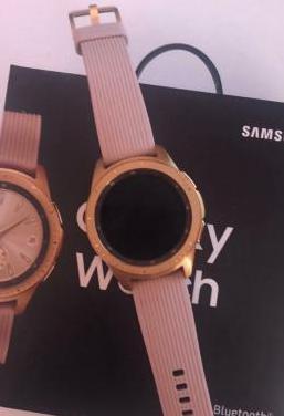 Samsung galaxy watch 42mm rosa