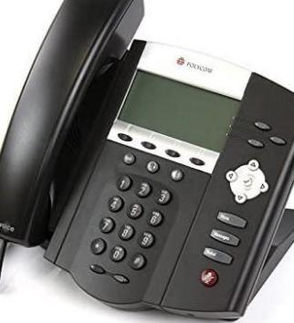 Teléfono conferencias voip polycom ip450