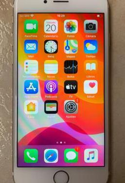 Iphone 6s 32gb blanco/oro