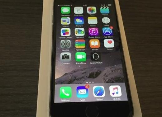 Iphone 6s negro 16gb