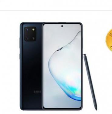 Samsung note 10 lite cerrado con factura