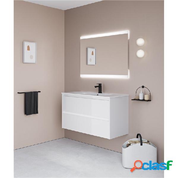 Mueble de baño 2 cajones con lavabo cerámico alfa royo