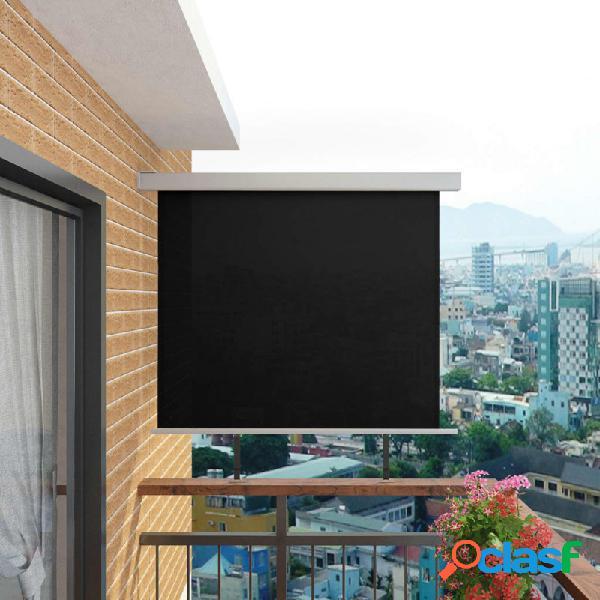 Toldo lateral de balcónultifuncional 150x200cm negro vida xl
