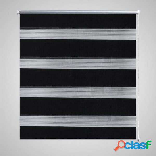 Persiana cebra 120 x 175cm negro vida xl