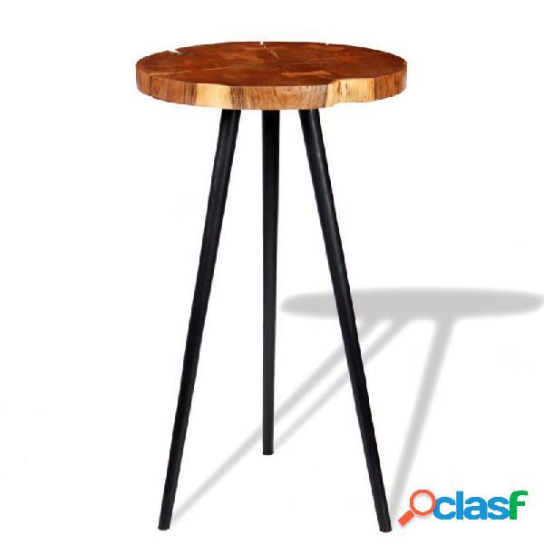 Mesa de bar de troncoaderaaciza de acacia (55-60)x110cm vida xl