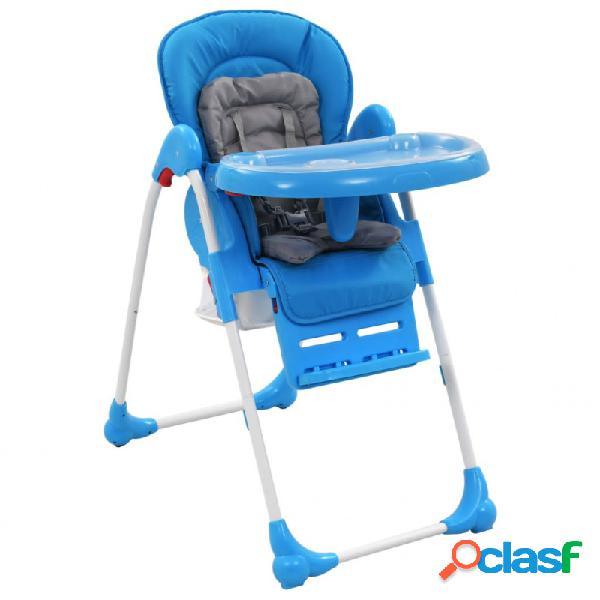 Trona de bebé azul y gris vida xl