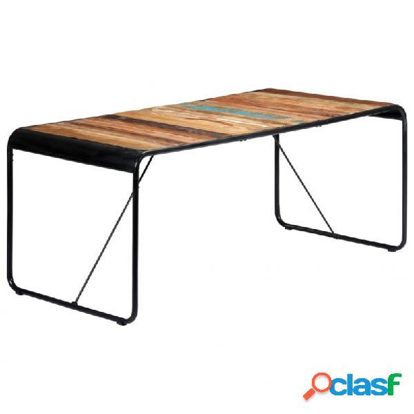 Mesa de comedor demaderamaciza reciclada 180x90x76cm vida xl