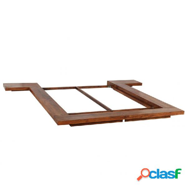 Estructura para futón estilo japonésmaderamaciza 140x200cm vida xl