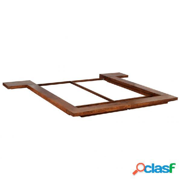 Estructura para futón estilo japonésmaderamaciza 180x200cm vida xl