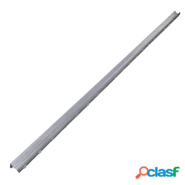 Postes de valla 10 unidades acero galvanizado 2m vida xl