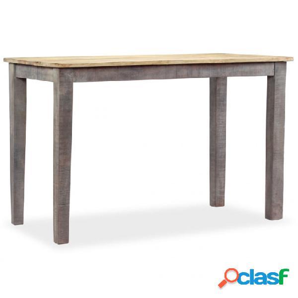 Mesa de comedor vintage demaderamaciza 118x60x76cm vida xl