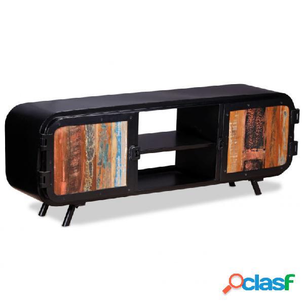 Mueble para tv deadera reciclada 120x30x45cm vida xl