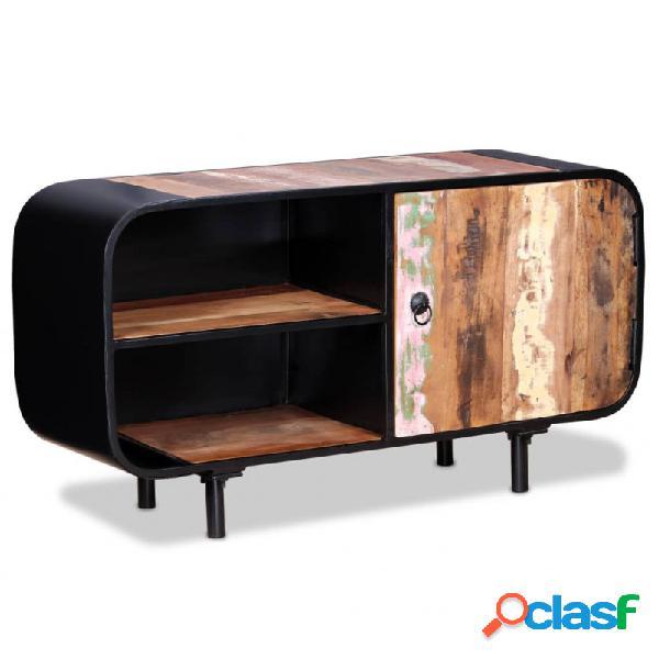 Mueble para tv deadera reciclada 90x30x48cm vida xl