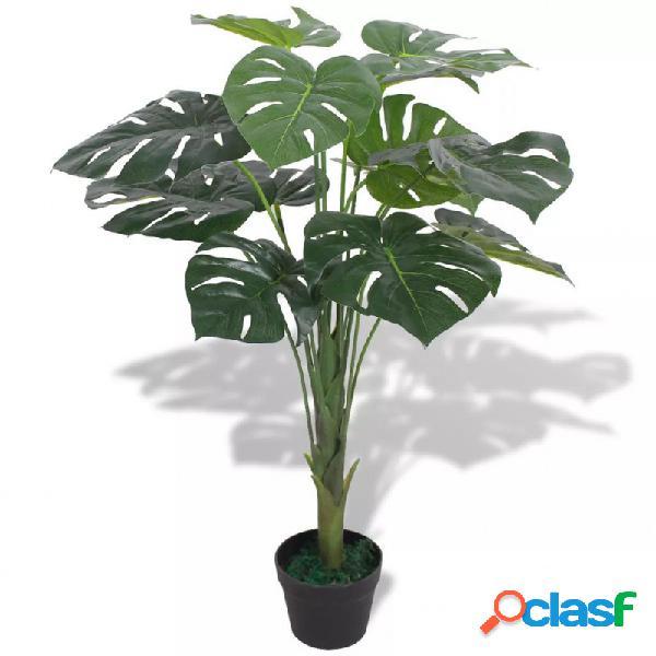 Planta deonstera artificial conaceta verde 70cm vida xl