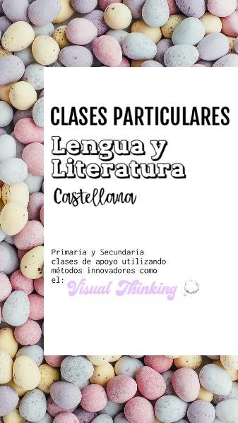 Clases particulares(verano)de lengua castellana