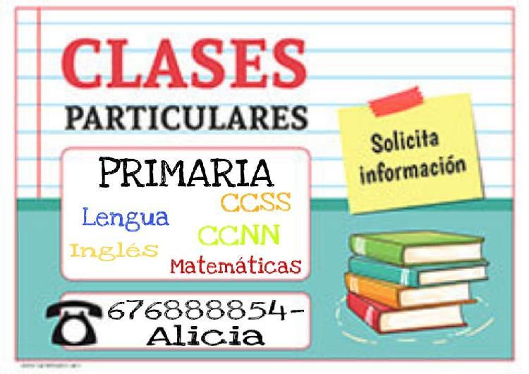 Clases particulares primaria.