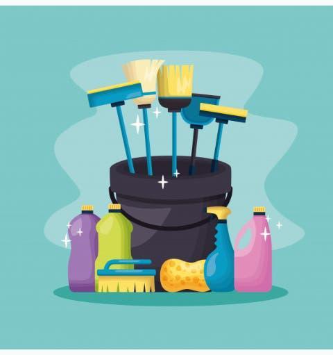 Limpiadora de hogar.