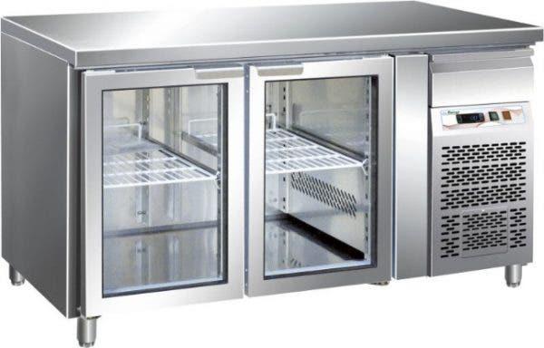 Mesa refrigerada 2200 glassabatidor de temperatura