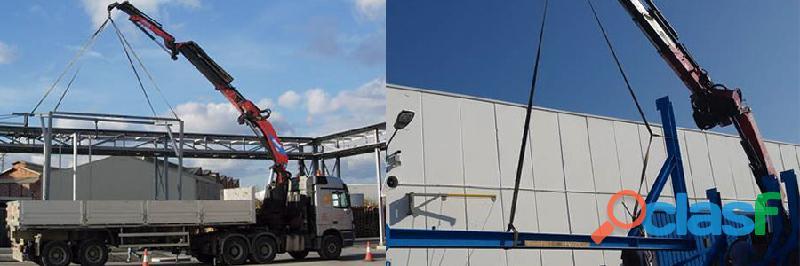 Especialistas en equipos de elevación de cargas