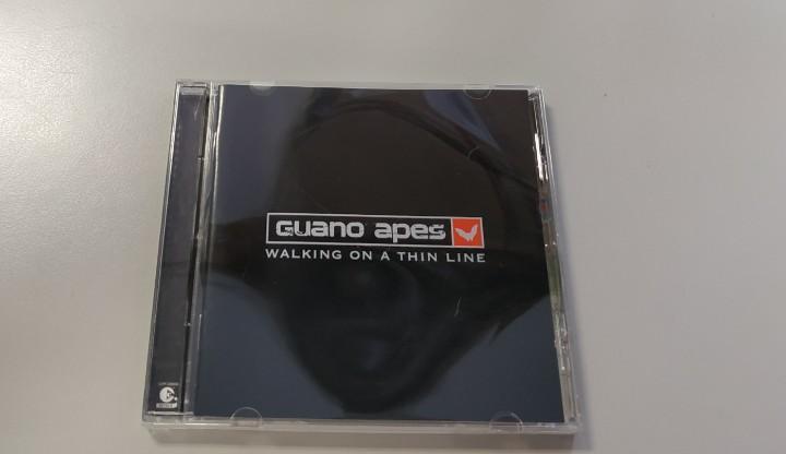 0620- guano apes walking a thin line cd nuevo sin precintar!