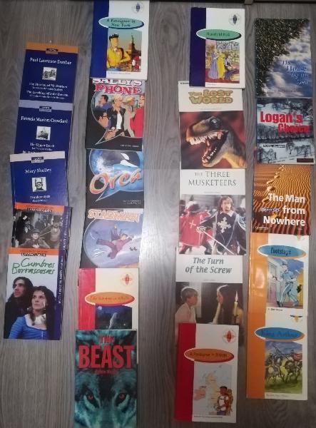 21 libros en inglés