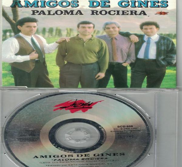 Amigos de gines - paloma rociera (cdsingle caja promo,
