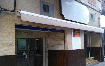 Alquiler bar terraza en molina de segura centro