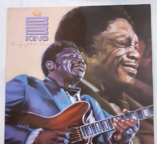 B.b.king. king of the blues 1989. mca 255952-1. germany