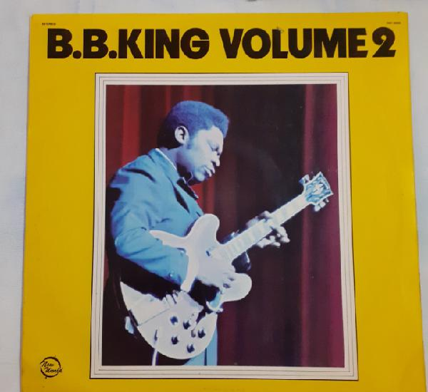 B.b.king. volume 2. new world, nw 6005. uk 1972. funda vg++.