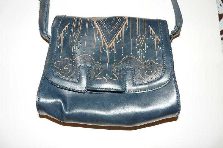 Bolso azul original diseño