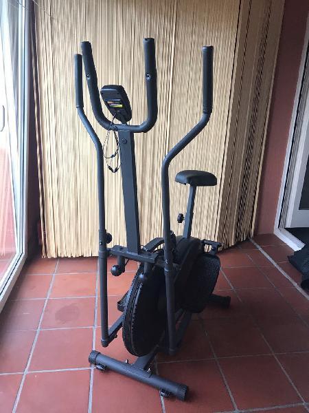 Bicicleta estatica y eliptica