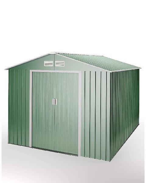 Caseta de jardín metálica nueva sin abrir
