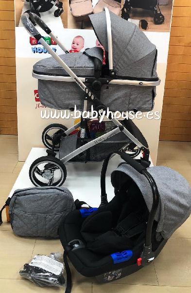 Cochecito trio convertible kikkaboo nuevo
