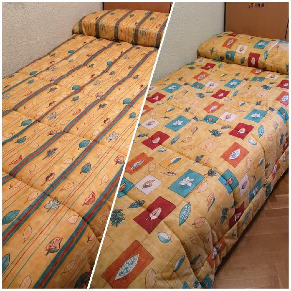 Edredón reversible cama 90