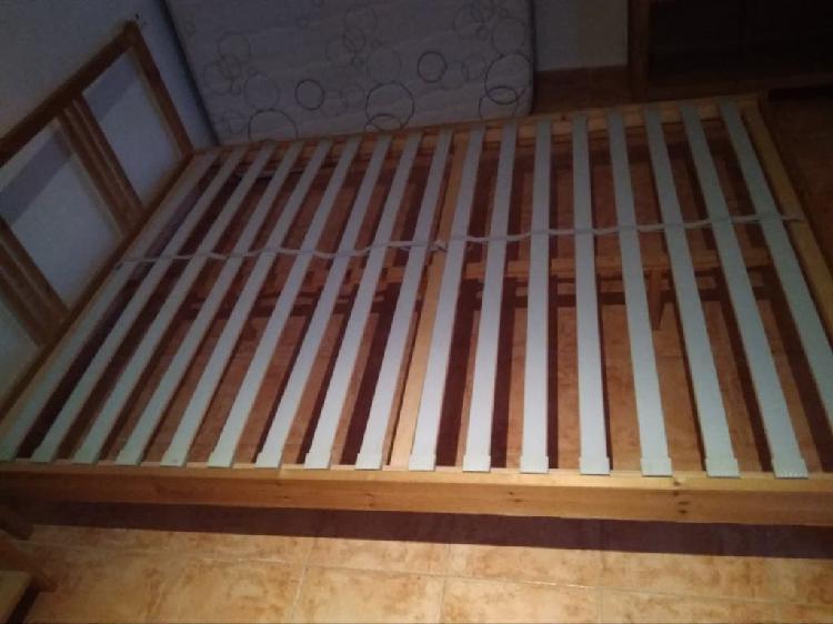 Estructura cama + colchón (opcional) - 140 x 180